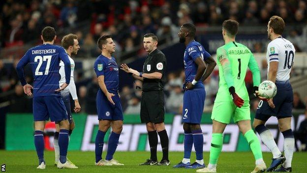 Penalty awarded at Wembley