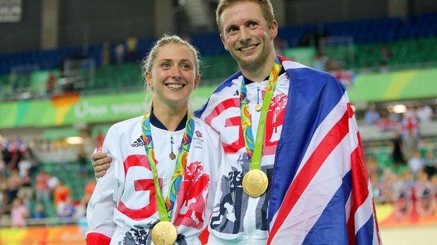Jason and Laura Kenny