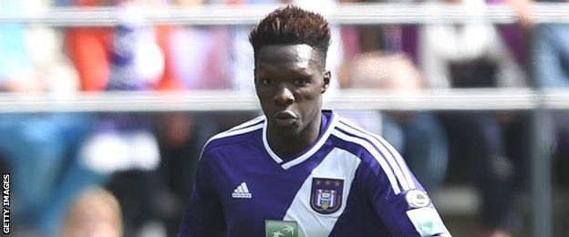 Fabrice N'Sakala of Anderlecht