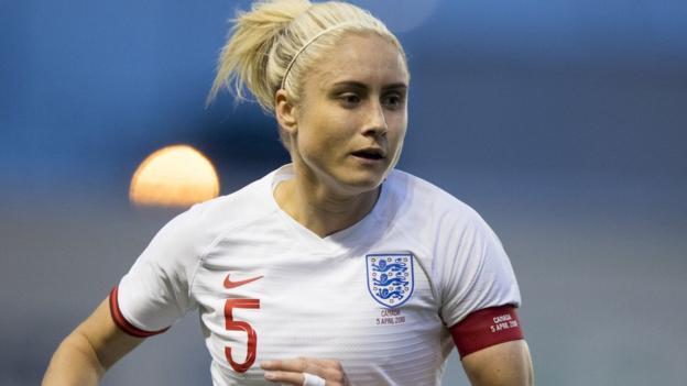 England women v Spain: Steph Houghton to miss friendly thumbnail