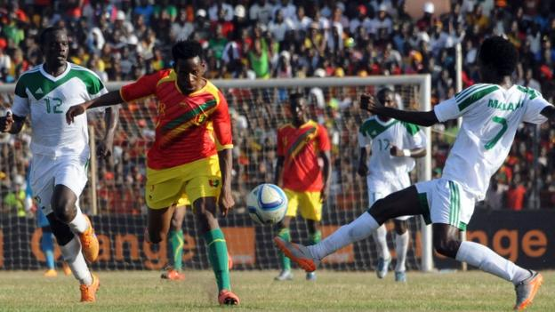 Guinea's win keeps alive their hopes of qualifying for the finals