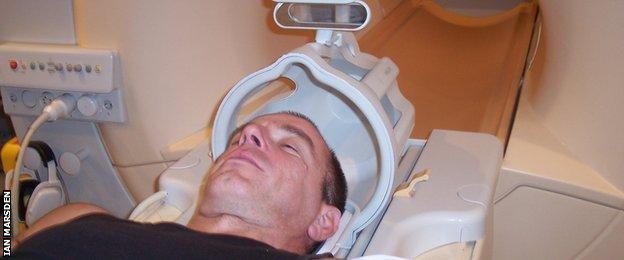 Ian Marsden undergoes tests