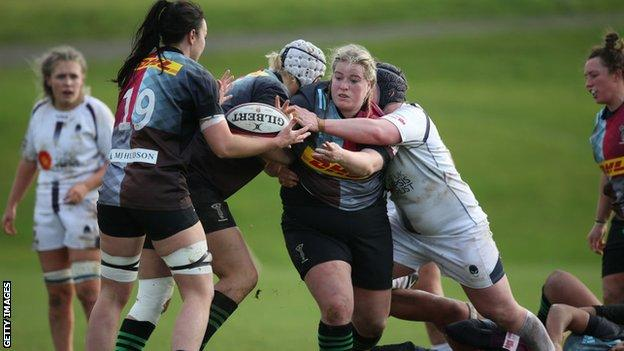 Harlequins Women take on Worcester Warriors