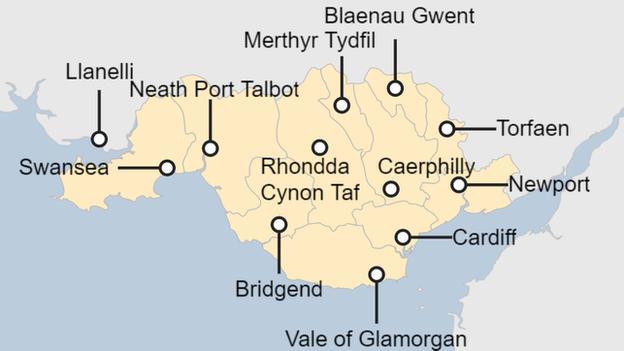 Local lockdown map