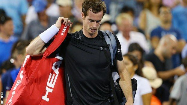 Andy Murray at the 205 US Open
