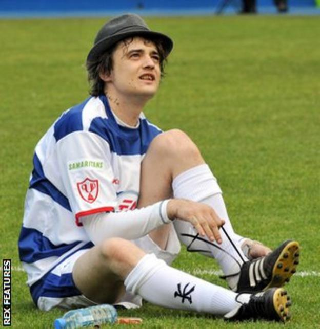 Libertines frontman Pete Doherty