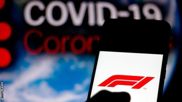 positive people Coronavirus in F1