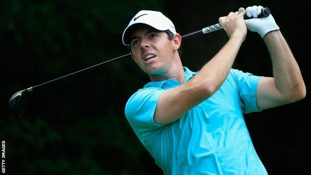 Rory McIlroy missed two months of the season after injuring his ankle playing football