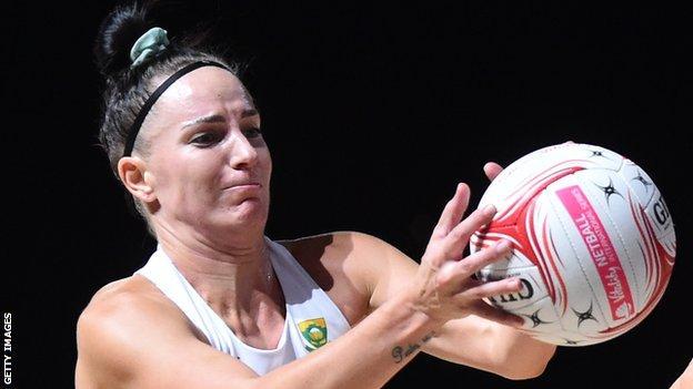 Shadine Van Der Merwe attacks for South Africa
