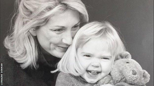 Lorraine Denman and Ellie Souter