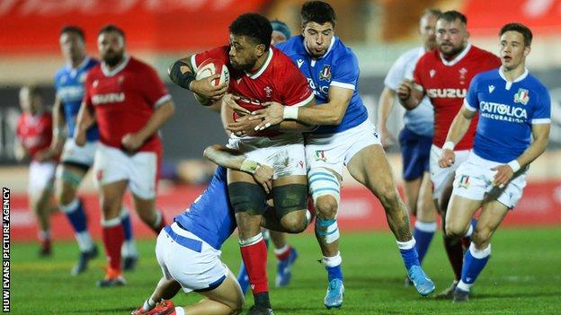 Taulupe Faletau has played 73 internationals for Wales and three Tests for the British and Irish Lions