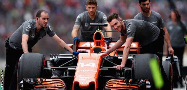 McLaren-Honda Formula 1 team