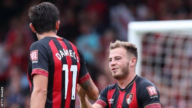 Bournemouth were too quick and skilful for Cardiff, and diminutive winger (right) embodied this superiority