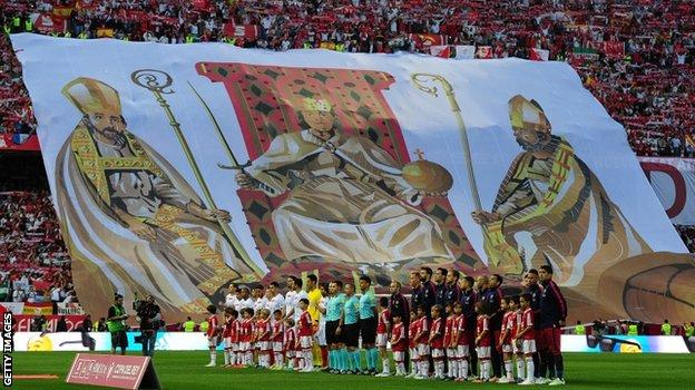 The final of the Copa del Rey