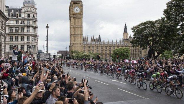 Tour de France in London 2014