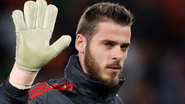 Man Utd prioritising new De Gea contract - Gossip
