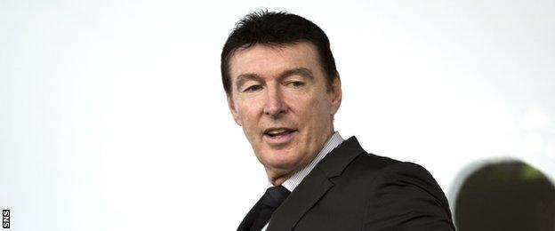 Former SFA chief executive Gordon Smith