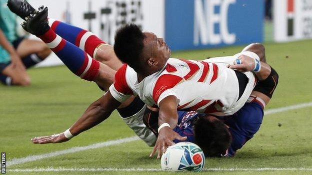 Kotaro Matsushima has a try ruled out