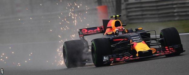 The Red Bull of Max Verstappen