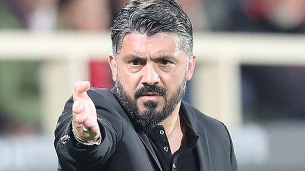 Gennaro Gattuso: Napoli name former AC Milan boss as Carlo Ancelotti's successo thumbnail