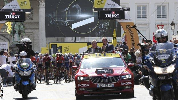 sports The 2019 Grand Depart in Brussels