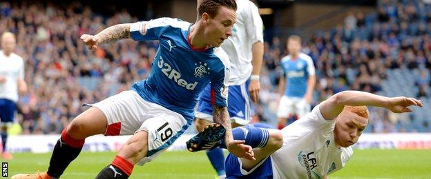 Barrie McKay and Nathan Blockley