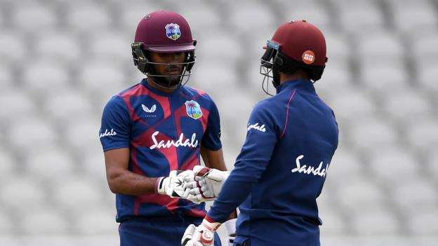 England v West Indies: Cricket returns with practice match thumbnail