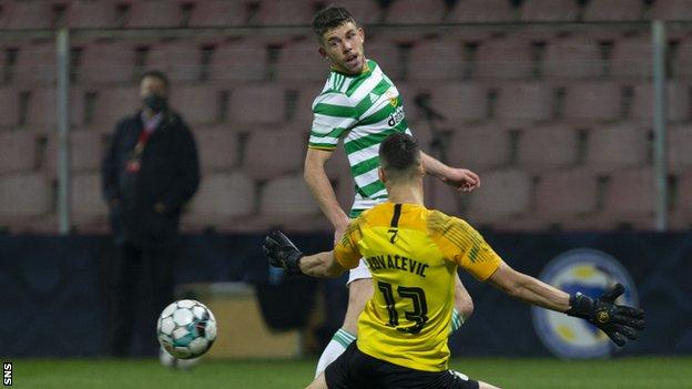 The midfielder was Celtic's main creative force and goal threat. Unlucky not to get on the scoresheet himself, but can be content with his key role in the winning goal.