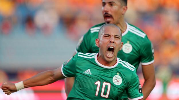 Africa Cup of Nations: Ivory Coast 1-1 Algeria (AET - Algeria win 4-3 on pens) thumbnail
