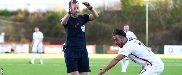 Willie Collum and Dougie Imrie