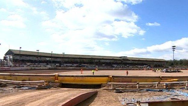 Coventry Bees raced at Brandon for almost 90 years