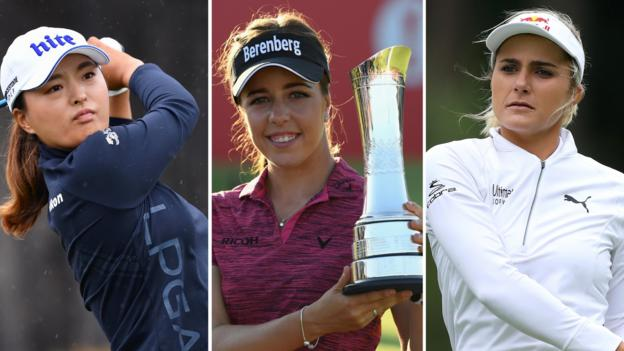 Women's British Open: Tee times for first round at Woburn