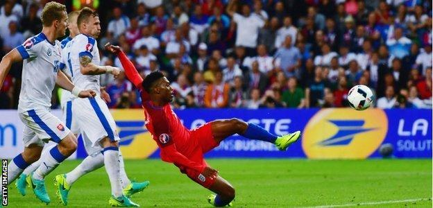 During his 75 minutes on the pitch against Slovakia, Sturridge had three shots - one was on target and the other two were blocked
