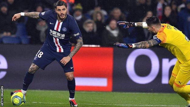 Mauro Icardi Argentine Striker Secures Permanent Switch From Inter Milan To Psg Bbc Sport