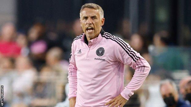 Inter Miami boss Phil Neville