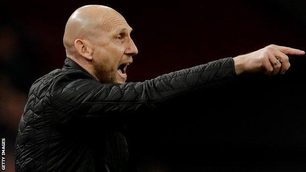 Jaap Stam as Feyenoord coach