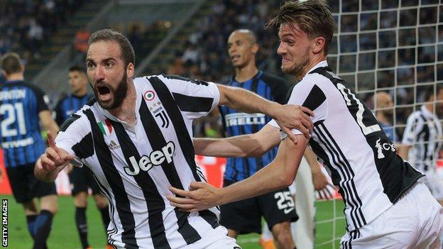 Juventus had lost control of the title race until Higuain scored