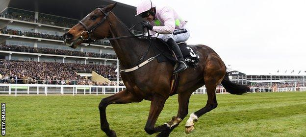 Ruby Walsh and Douvan