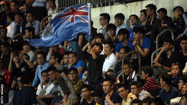 Eastern supporter