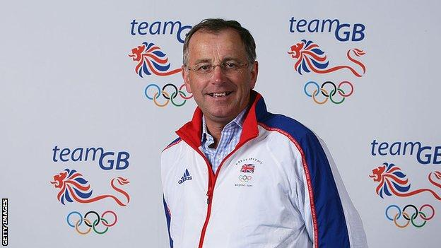 Ian Coley MBE former GB shooting coach