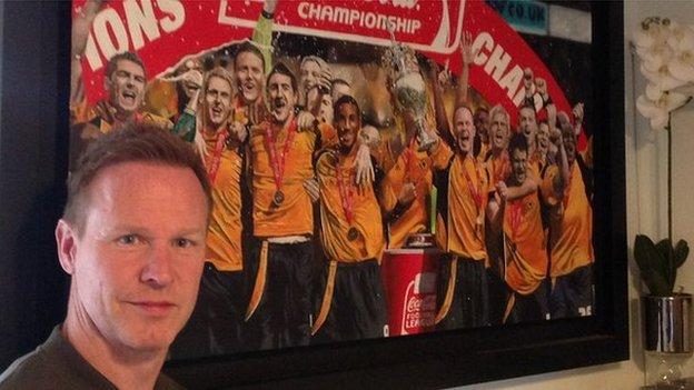 After playing a big part as a player, Jody Craddock felt moved to commemorate Wolves' promotion from the Championship under Mick McCarthy in 2009 in art form