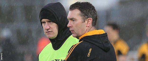 McEntee and McConville led Crossmaglen to the Ulster title in 2015 as co-managers