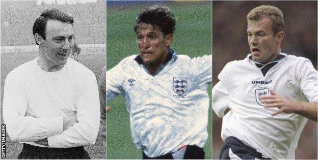 Jimmy Greaves, Gary Lineker, Alan Shearer