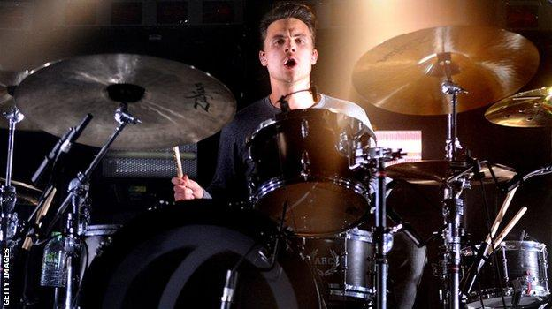 You Me At Six Drummer Dan Flint