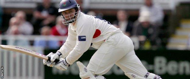 Lancashire's Warren Hegg
