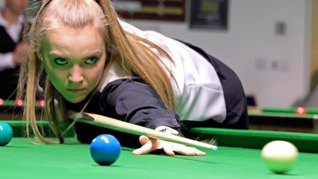 Snooker Shoot Out: Emma Parker loses to Laxman Rawat in first round thumbnail