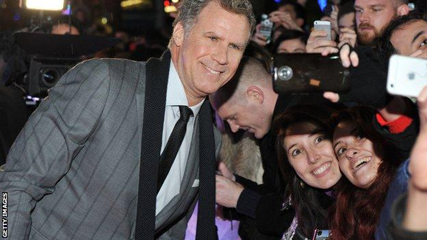 Will Ferrell is said to be a Chelsea fan