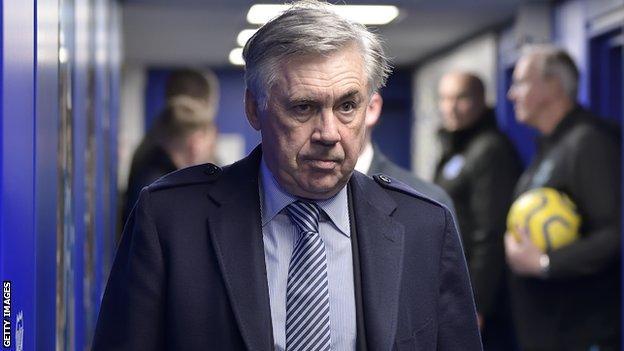 Carlo Ancelotti, Everton manager