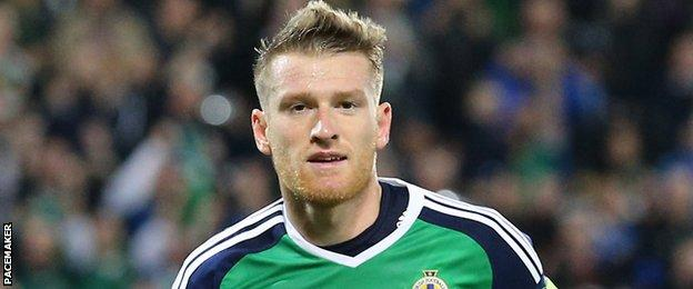 Steven Davis was the outstanding performer for Northern Ireland