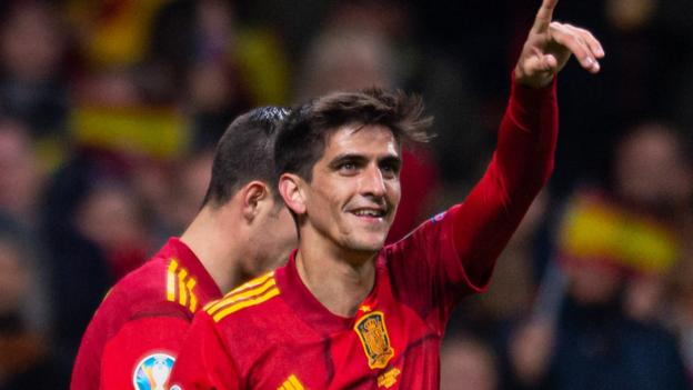 Spain 5-0 Romania: Hosts wrap up Euro 2020 qualifying in style